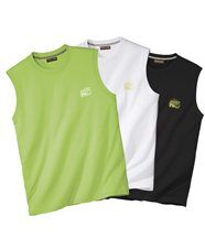Lot de 3 Tee-Shirts Sans Manches Sport Summer