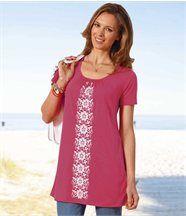 Maxi Tee-Shirt Rose Corail