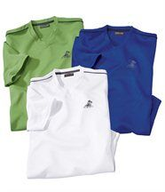 Lot de 3 Tee-Shirts Polyester Best Eté