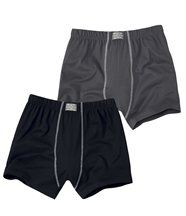Lot de 2 Shortys Confort
