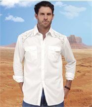 Chemise White Country