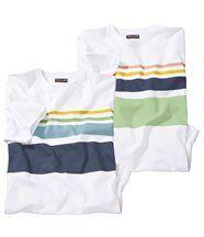 Lot de 2 Tee-Shirts Malta