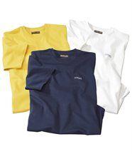 Lot de 3 Tee-Shirts
