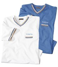Lot de 2 Tee-Shirts Océan
