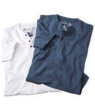 Set van twee T-shirts 'Westkust'