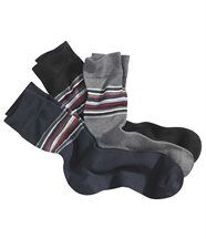 Set van 3 paar comfortabele sokken