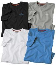 Lot de 4 Tee-Shirts Rocheuses