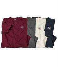Lot de 4 Tee-Shirts Runny