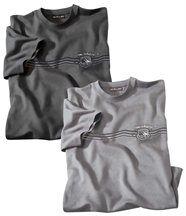 Lot de 2 Tee-Shirts Confort
