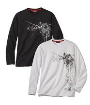 Lot de 2 Tee-Shirts Great Snow
