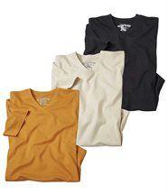 Set van 3 T-shirts Domuyo