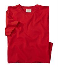 Homme - Tee-Shirt Rouge Atlas (bio)