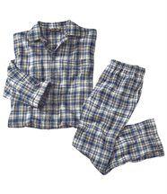 Flanellen pyjama British
