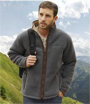 Blouson Polaire & Sherpa Celtic Forest