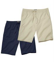 Lot de 2 Bermudas Sailboat