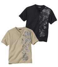 Lot de 2 Tee-Shirts Arizona Travel
