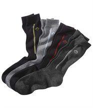 Set van 4 paren sokken met jacquardmotief