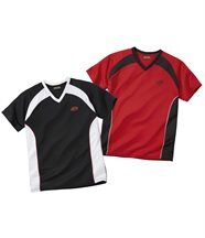 Lot de 2 Tee-Shirts Adventure Training