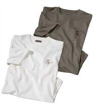 Lot de 2 Tee-Shirts Esprit Aventure