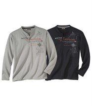 Set van 2 T-shirts Cordillera