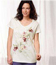 Tee-Shirt Floral