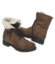 Chaussures Montantes Fourrées Sherpa