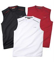 Set van 3 T-shirts Tank