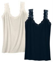 Lot de 2 Tops Dentelle
