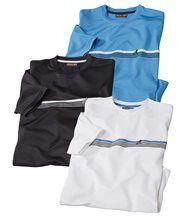 Set van 3 T-shirts Natuursport