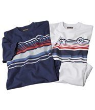 Lot de 2 Tee-Shirts Cyclades