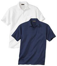 Lot de 2 Chemises Col Polo