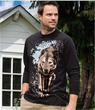 Tee-Shirt Motif Loup