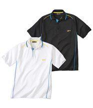 Set van 2 sportieve polo's