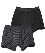 Set van 2stretch boxershorts