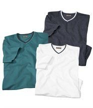 Lot de 3 Tee-Shirts Caicos