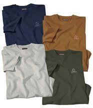 Lot de 4 Tee-Shirts Essential