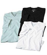 Lot de 3 Tee-Shirts V Classic