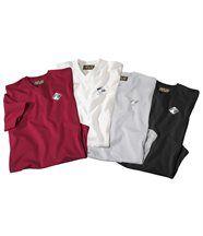 Lot de 4 Tee-Shirts Confort