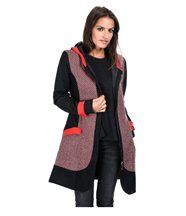 Manteau tania /rouge