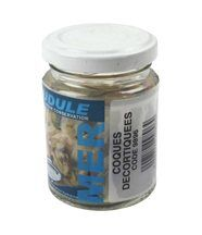 Dudule appats mer coques decortiquees en pot