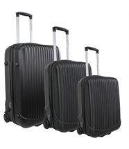 Zifel set de 3 valises chariot rigide abs 2 ro...