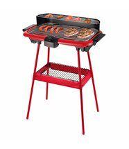 Barbecue électrique sur pieds, rouge be nomad