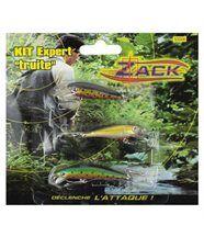Zack kit 3 poissons nageurs truite