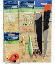 Zebco kit de pêche du maquereau  parties, de l...