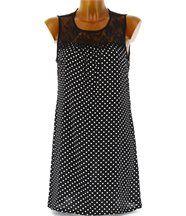Robe mousseline dentelle 36/42 - laviana - femme -