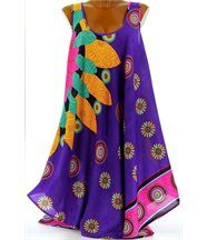 Robe  sans manches  - MEXICO - violet