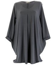 Robe boule grande taille gris OLIVE