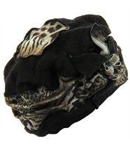 Bonnet femme hiver laine ARNOLD noir