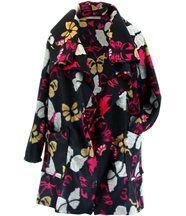 Manteau laine hiver grande taille julio noir