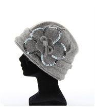 Bonnet beret chapeau juliette laine vierge  bijoux